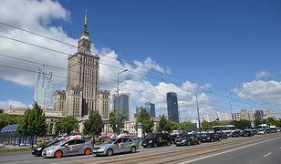 Protest taksówkarzy w Warszawie. Będą korki i utrudnienia w ruchu