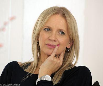 Dziennikarka nie jest spokrewniona z Agatą Rogalską-Topą