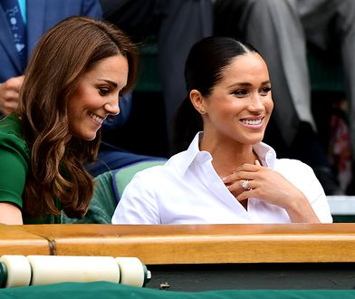 Ostatnie wspólne wyjście Kate i Meghan podczas turnieju tenisa