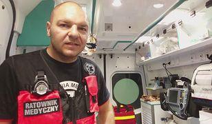 Na co dzień Tomek pracuje w Regionalnym Szpitalu Specjalistycznym im. dr. Władysława Biegańskiego w Grudziądzu
