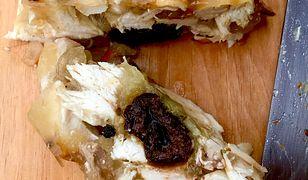Galareta z kurczakiem i suszoną śliwką. Delikatna i pełna smaku