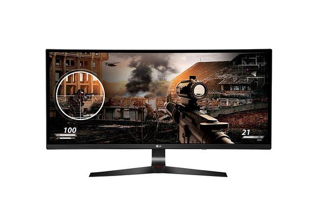 Monitor LG 34UC79G z zakrzywionym ekranem dla miłośników gier