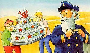 Pixi. Tort urodzinowy kapitana Kompasa