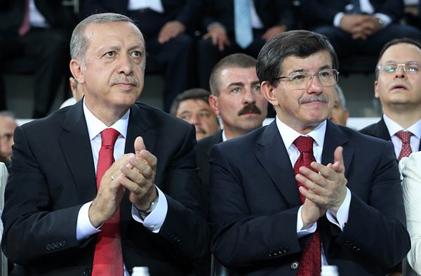 Recep TAyyip Erdogan i Ahmet Davutoglu