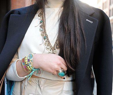Jewellery junkie to najgorętszy hit sezonu wiosenno-letniego.