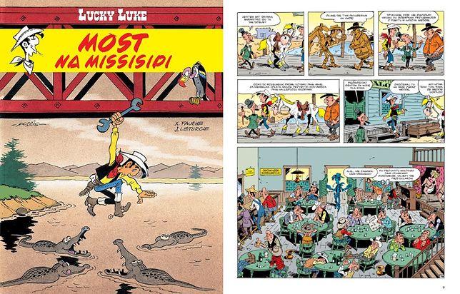 Lucky Luke. Most na Missisipi, Egmont 2020