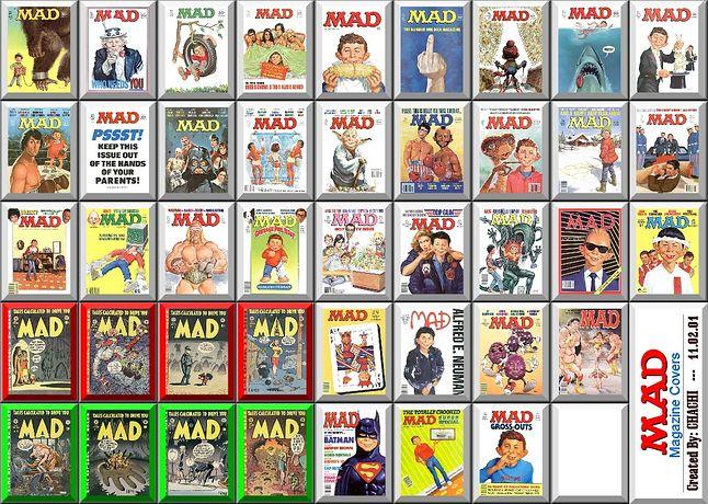 """Na przełomie lat 60 i 70. nastoletni Stallman prenumerował numery magazynu """"Mad"""", którego czytanie w dużym stopniu wpłynąło na jego światopogląd."""