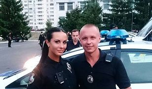 Lyudmila Milevich - ukraińska policjantka podbija Instagram