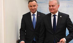 Prezydent Litwy Gitanas Nausėda zachwala relacje z Polską: aż strach coś zepsuć