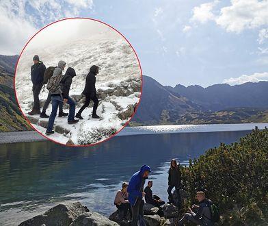 W Tatrach już zima. Pogoda zaskoczyła w Dolinie Pięciu Stawów i innych rejonach
