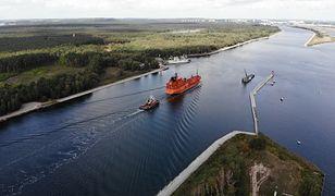 """Wydobycie bomby """"Tallboy"""" w Kanale Piastowskim w Świnoujściu będzie zależało od warunków pogodowych"""