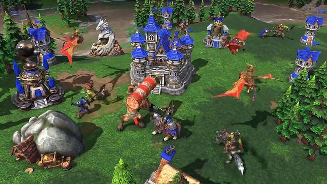 Warcraft III: Reforged nie sprawdził się na turnieju. Mecz dokończono w klasycznej edycji