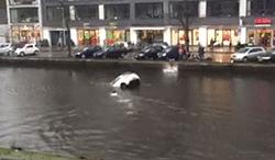 #dziejesiewmoto [277]: z tonącego auta uratowali matkę z dzieckiem, groźny pies i pechowa stłuczka