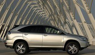 Hybrydowy terenowiec - Lexus RX 400h