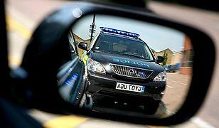 Hybrydowy radiowóz - Lexus RX 400h