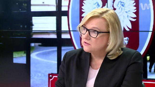 Wcześniej Beata Kempa była szefową Kancelarii Prezesa Rady Ministrów