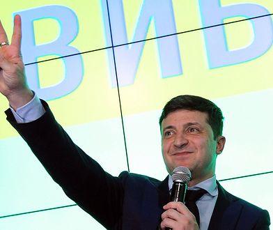 Ukraina. Pierwszą turę wyborów na wygrał komik Wołodymyr Zełenski