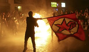 Protest przeciwko G20 w Hamburgu