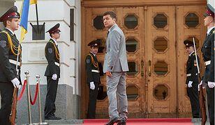 Ukraina: komik telewizyjny Wołodymyr Zełenski na szczycie najnowszego sondażu prezydenckiego