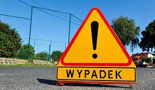 Ostrów Mazowieckia: Na drodze ekspresowej S8, doszło do zderzeń drogowych. Cały pas w kierunku Warszawy został zablokowany.
