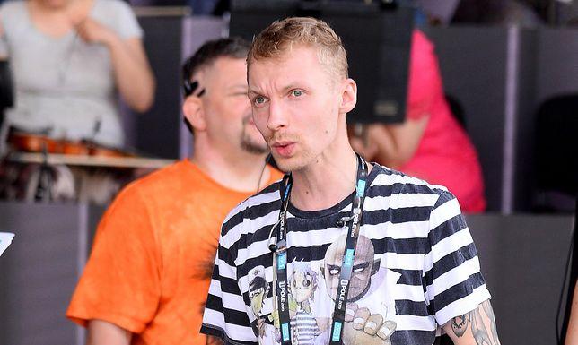 Igor Herbut na próbach do 56 KFPP w Opolu