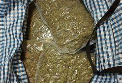 Warszawa. Taksówką przewoził 4 kilogramy marihuany
