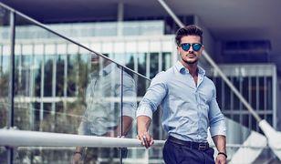 Mężczyzna zawsze dobrze wygląda w koszuli
