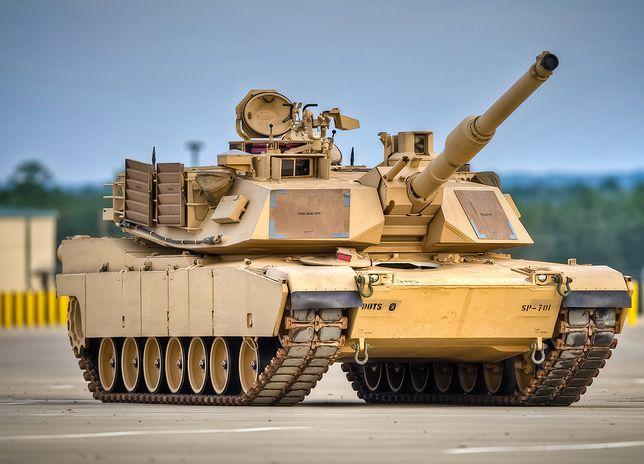 """Nowy kamuflaż na amerykańskie czołgi. Będą """"niewidzialne"""""""