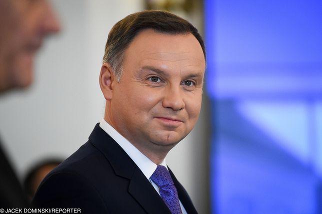 Wywiad z prezydentem Andrzejem Dudą. Odpowiadał na pytania w TVP Info
