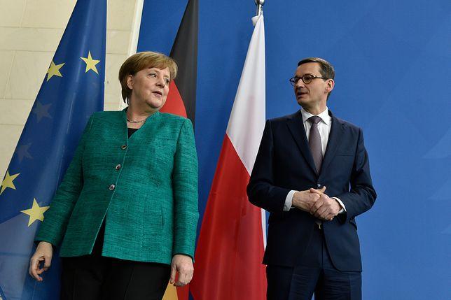 """""""Mówił po angielsku, był wyluzowany..."""". Kulisy wizyty Morawieckiego w Niemczech"""