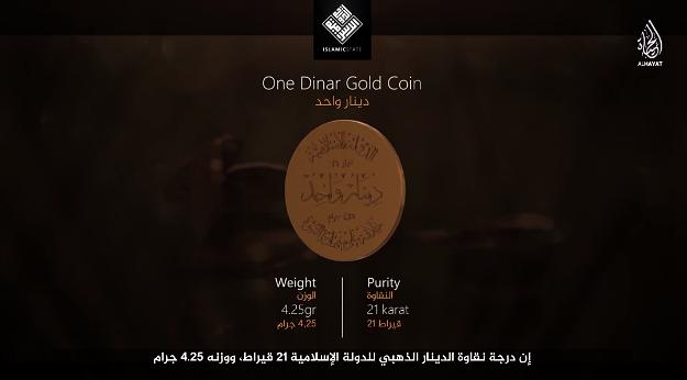 Państwo Islamskie zaprezentowało własną walutę