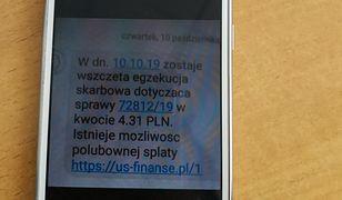 Uwaga na nowe oszustwo. Fiskus ostrzega przed fałszywymi SMS-ami