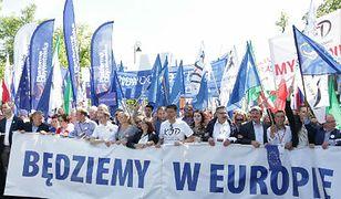 Marsz KOD-u na zdjęciach