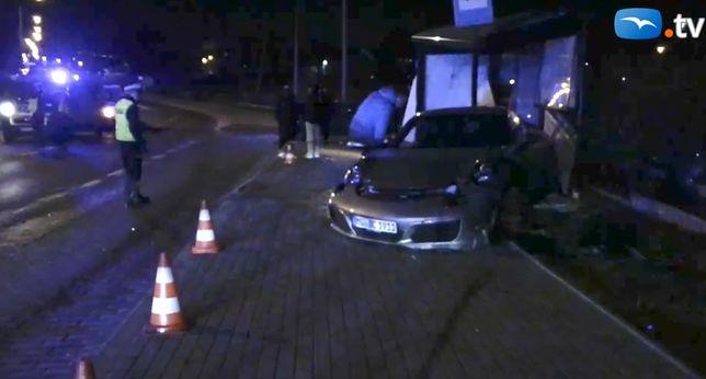 Gdańsk. Wypadek przy ul. Myśliwskiej