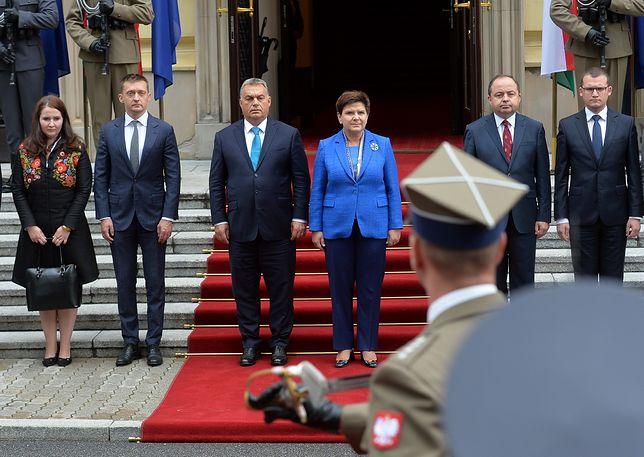 Beata Szydło spotkała się z Viktorem Orbanem
