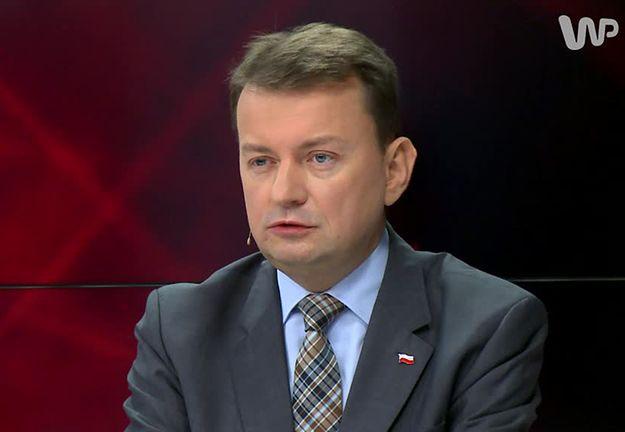 """Błaszczak: interwencja straży granicznej UE nie powinna być narzucana. """"Pogląd polskiego rządu zwycięża"""""""