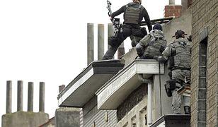 Siły specjalne w pościgu za terrorystami w Belgii