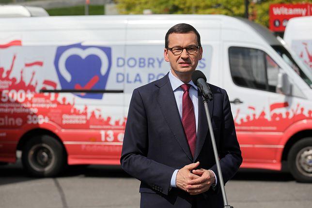 Ministerstwo Sprawiedliwości i farma trolli? Mateusz Morawiecki komentuje dolesienia ws. Łukasza Piebiaka
