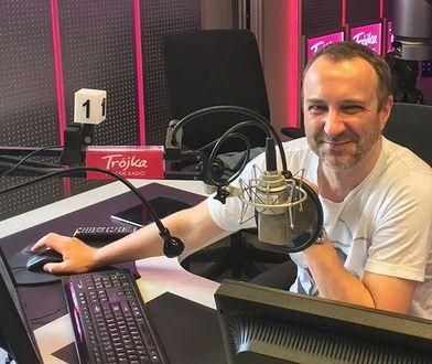Mariusz Owczarek, nowy szef redakcji muzycznej Programu Trzeciego PR, poprowadził w piątek audycję na żywo.