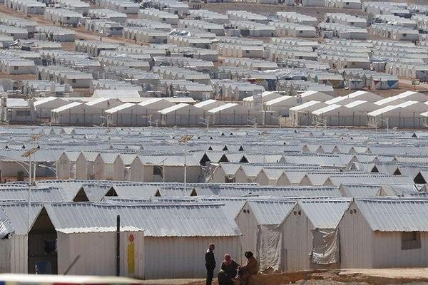 Zamach na obóz dla uchodźców w Jordanii