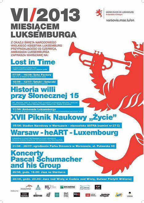 Czerwiec miesiącem Luksemburga
