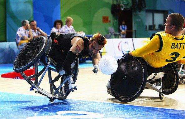 Za darmo: Wheelchair Rugby Metro Cup