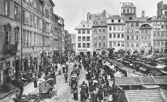 Za darmo: Nieznane oblicze warszawskiej starówki