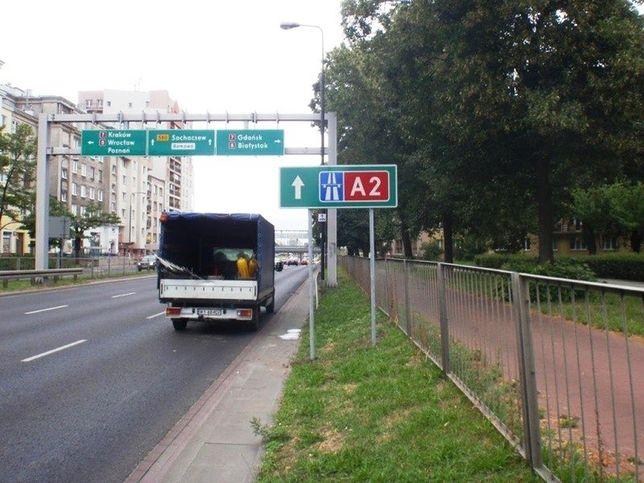 Jak dojechać na autostradę A2?
