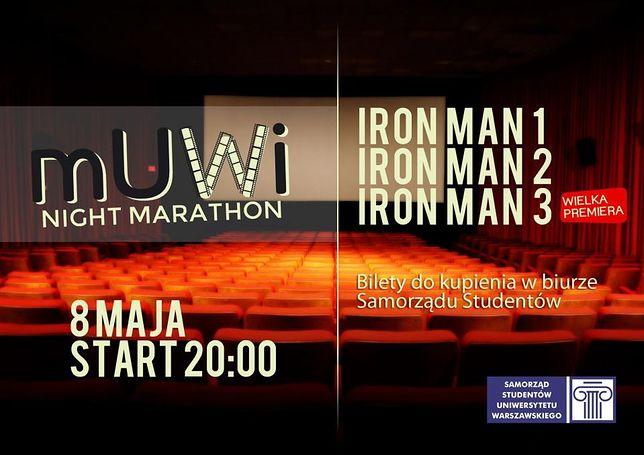 mUWi Night Marathon - 3 filmy za 15 złotych!