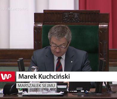 Problemy marszałka Kuchcińskiego z językiem angielskim