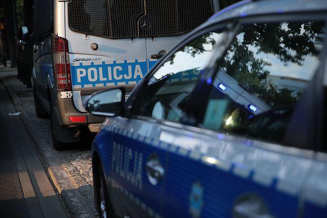 Policjanci próbowali obezwładnić mężczyznę