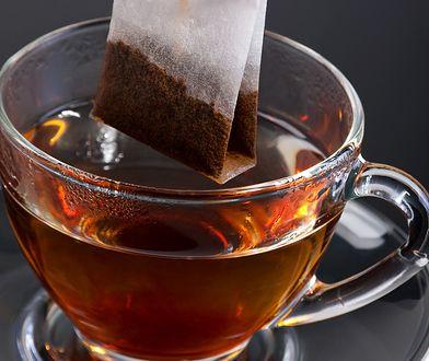 Torebka herbaty ekspresowej