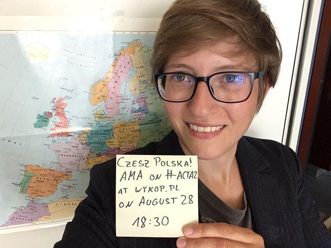 Julia Reda z niemieckiej Partii Piratów