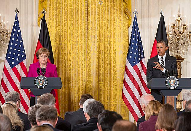Barack Obama po rozmowach z Angelą Merkel: Rosja narusza integralność terytorialną Ukrainy